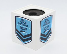NRL Touch Football NSW Microphone Flag