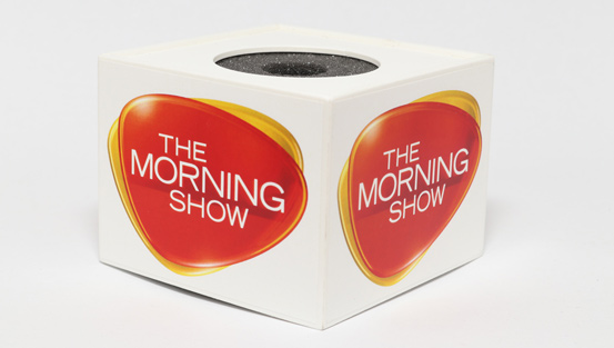 The Morning Show Microphone Flag